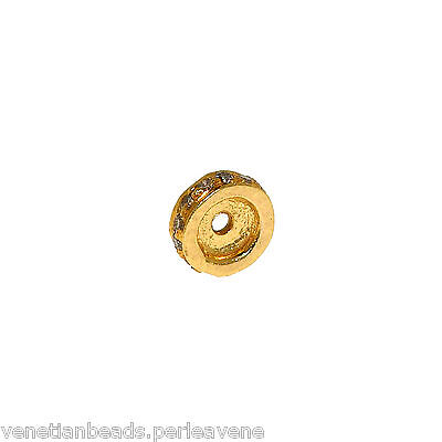 Vintage Indian Element for Jewelry - Gold and Diamonds    -   (1019) 4