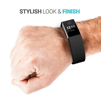 Fitbit Charge 3 Wrist Straps Wristbands, Best Replacement Accessory Watch Bands 4