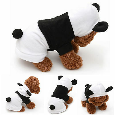 Pet Dog Winter Warm Clothes Costumes Puppy Cat Hoodie Coat Sweater Shirt Apparel 3