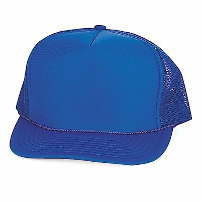 4 Pack Trucker Baseball Hats Caps Foam Mesh Blank Solid Two Tone Adult Youth