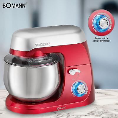 Robot cocina multifuncion batidora amasadora reposteria 5L 1000W Bomann KM 6009 5