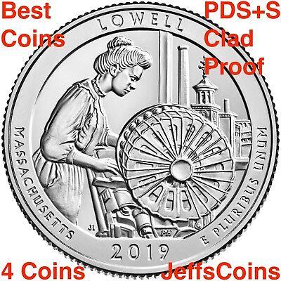 2019 PDSSS American Memorial Park Mariana Clad & Silver Proof Quarter P D S S S 3