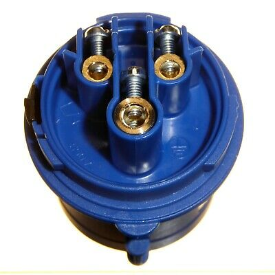 16A 3 Pole Plug 240v IP44 Blue 1 Phase 2P+E IEC/CEE Caravan Trailer Garo 16 Amp 7