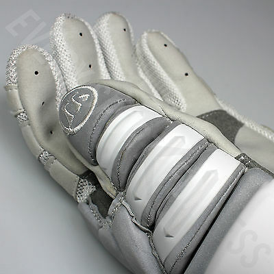 "Lists @ $190 NEW Warrior Regulator 2 Reflect SR Lacrosse LAX Gloves 13/"" Silver"