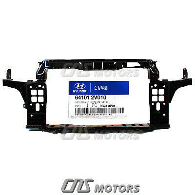 HYUNDAI OEM 12-13 Veloster Radiator Core Support-Lower Baffle 291102V000