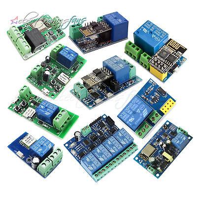 ESP8266 DC 5//12//32//220V WiFi Wireless Switch Relay Smart Home Automation ASS