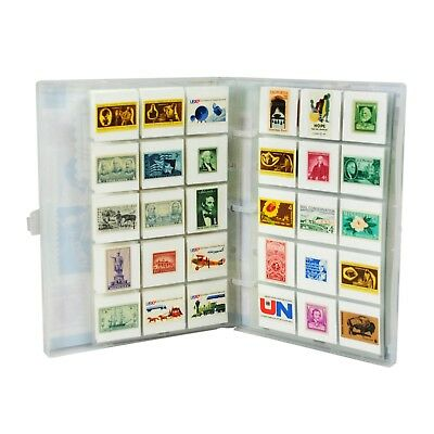 Stamp Collection Kit/Album, w/ 10 Pages, Holds 150-300 Stamps (No Stamps) 3