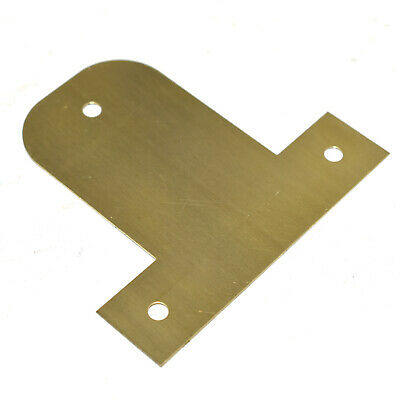 BENDABLE FIXING PICTURE PLATE BRASS PLATED HANGING BASKET FRAME MIRROR 25 - 45mm 3