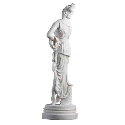 "Persephone Goddess Of The Underworld Springtime Flowers&Vegetation Statue 11.8"" 6"