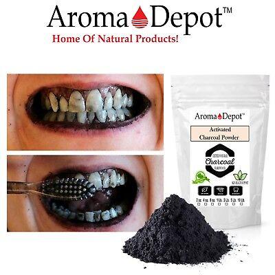 Activated Charcoal Powder Teeth Whitening Organic Bulk 100% Natural Food Grade 5