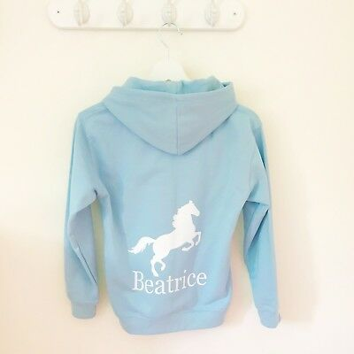 Girls Personalised Hoodie for Dance, Ballet, Tap, Activity Hoodie for Girls 7
