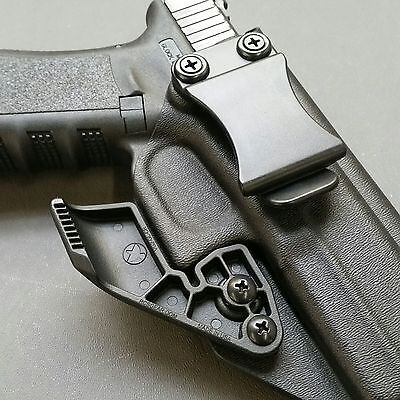 MADE FOR GLOCK 17/22 - IWB STRAIGHT DRAW KYDEX HOLSTER with RCS CLAW