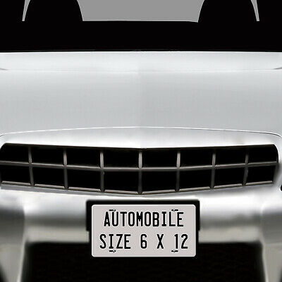 Personalized Custom License Plate Tag for California Auto Car Bicycle ATV Bike 3