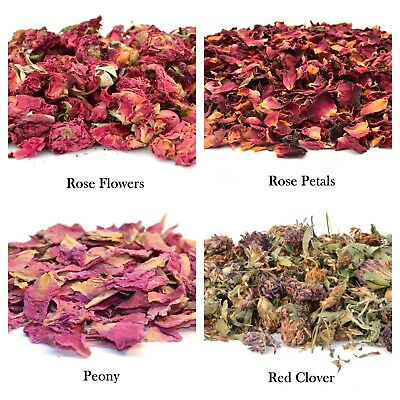 Dried Flowers & Petals 49+ Types! Wedding Confetti, Soap Candle Tea Candle Craft