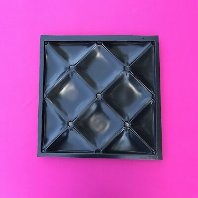 Concrete Stamps, Forms & Mats *ether* 3d Decorative Wall Panels 1 Pcs Abs Plastic Mold For Plaster Slip Casting Molds & Kits