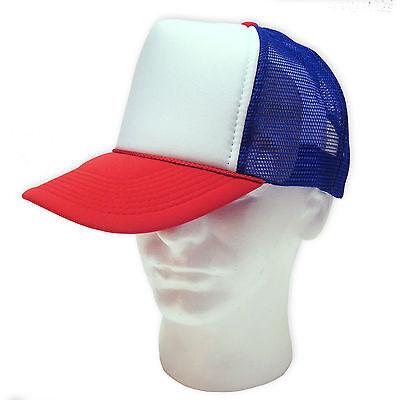 f126f493 ... 12 TRUCKER HATS ~ WHOLESALE BULK LOT ~ 1 DOZEN Mesh Caps Adjustable  SNAPBACK HAT 4