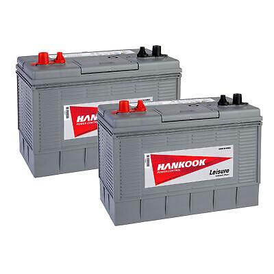 2x 12V 100Ah Batterie Décharge Lente Pour Caravane, Camping Car et Bateau 2