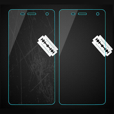 2x NUGLAS Tempered Glass Screen Protector for Apple iPhone X 8 7 6 5 Plus XS Max 2