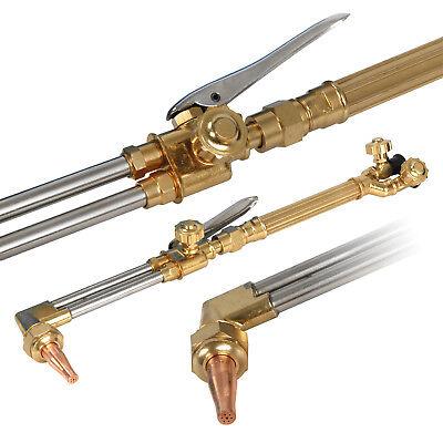 New Gas Welding Cutting Kit Oxy Acetylene Oxygen Torch Brazing Fits 8
