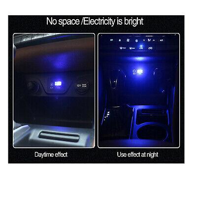 1X 8X Mini Flexible USB LED Light Interior Car Strip Neon Car Atmosphere Lamp RK