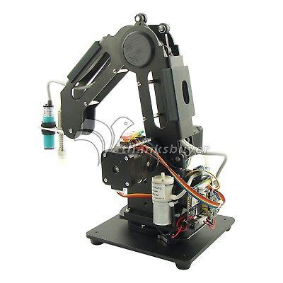 Black Mechanical Robot Arm 3 Axis Production Line Carry Aluminum Alloy 6061 3