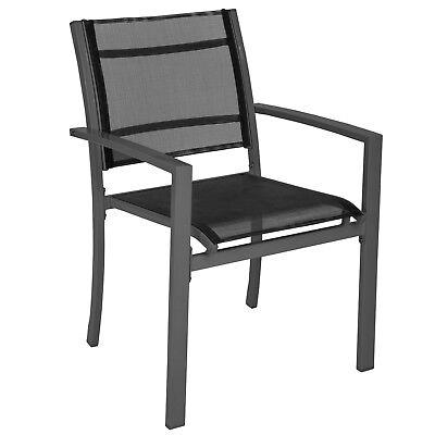 LOT DE 2 chaises de jardin camping terrasse balcon salon de ...