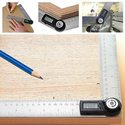 Electronic Digital Protractor Goniometer Angle Finder Meter Gauge Tool CE 360° 2