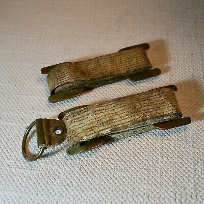Antik Maßband für Pferde Horse scale Stockmaß 19 Jhdt 3