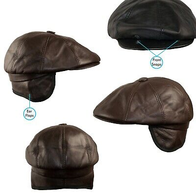 Civil War Hat Black Staatenmütze Caps Armycaps Ledercap Ledermütze Kappe USA
