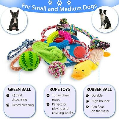 Dog Puppy Toy Rope Xmas Christmas Bundle And Teeth Cleaning Cotton Rope Toys 3