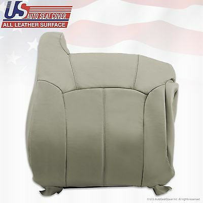 1999 2000 2001 2002 Chevy Tahoe Suburban Upholstery leather seat cover Gray 8