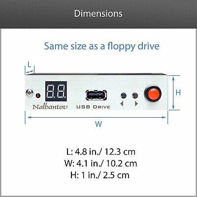 !USB Floppy Drive Emulator N-Drive Industrial for Arburg Selogica Control System 9
