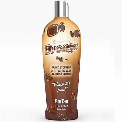ProTan SATURNIA Full Range Dark Tanning Sunbed Tan Cream Lotion 250ml Bottles 4