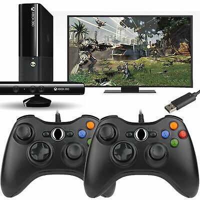 Wired / Wireless Game USB Controller Gamepad Joystick For Microsoft Xbox 360 &PC 9