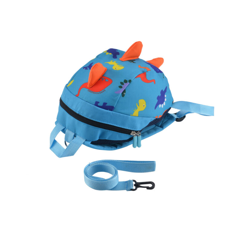 Cartoon Baby Toddler Kids Dinosaur Safety Harness Strap Bag Backpack with Reins 11