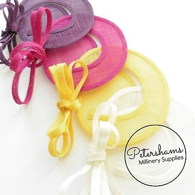 Sinamay Swirl - Make an Instant Fascinator for Hat Making and Millinery! 4