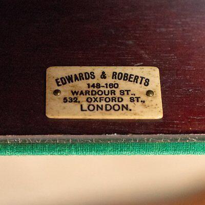 Antique Fold-Over Games Table, English, Edwards & Roberts, London Circa 1880 8