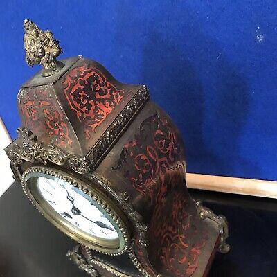 French Buelle Mantle Clock Georgian 3