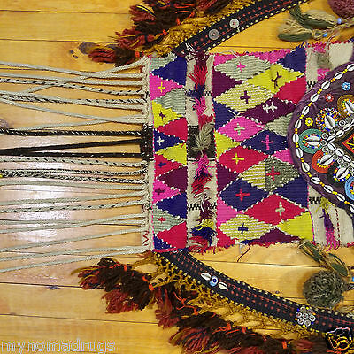 Beautiful Antique 1900-1930s Tribal Decorative,Ceremonial Wall Hanging Turkey 3