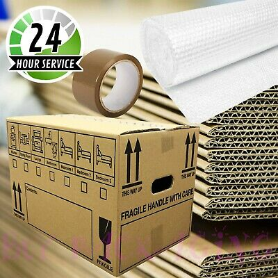 20 LARGE MOVING BOXES Double Wall Cardboard Box NEW ✔ Removal Packing Shipping ✔ 2