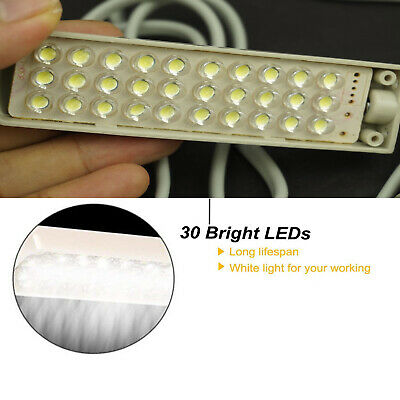 LED Lighting Flexible Gooseneck Arm Work,Magnetic Base for Workbench Lathe Drill 4