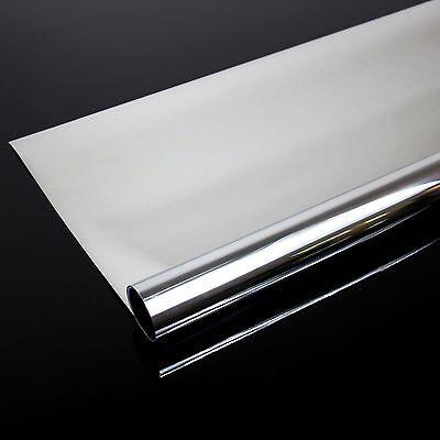 4,92€/m² Spiegelfolie Fensterfolie Spiegel Folie Fenster UV Sichtschutzfolie 8