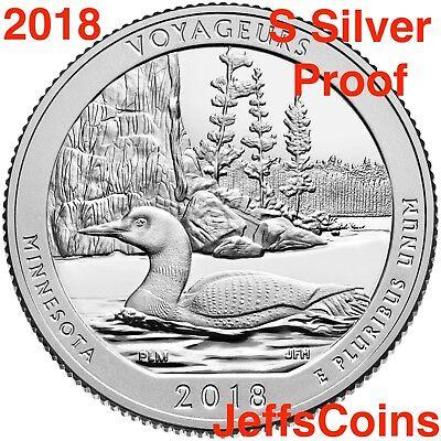 2018 S Block Island National Seashore 90% Silver Proof Park Quarter US.Mint 7