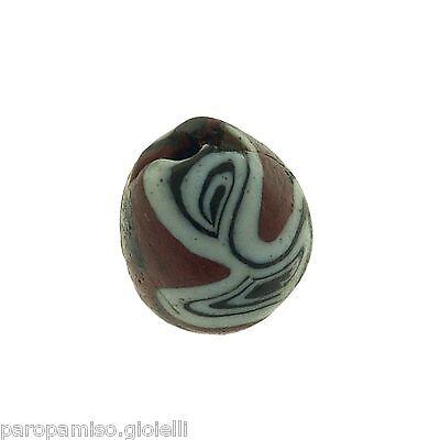 Early Islamic Glass Bead   (0430) 10