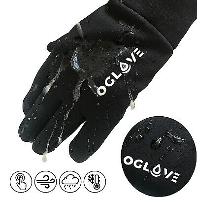 Football Field Player Gloves Waterproof Thermal Grip Boys Kids Junior 5