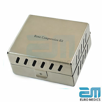 Bone Compression Kit Sinus Lift Bone Prosthodontic MIS Implants Surgical NEW CE 2