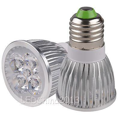 MR16/GU10/E26/E27 9W 12W 15W LED Lampe Leuchtmittel Licht Warmweiss Strahler 5