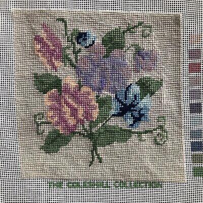 Job Lot Vintage Carol Payton Royal Paris Embroidery Needlepoint Tapestries 4