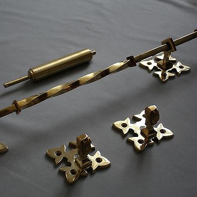 Victorian Inspired Brass Lichfield Bell Pull 4