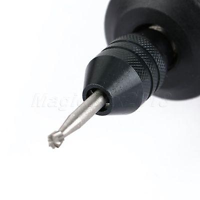 0.5mm-3.2mm Brass Collet Chuck 4.3mm Shank & Long M8 Keyless Drill Chuck Tool 10
